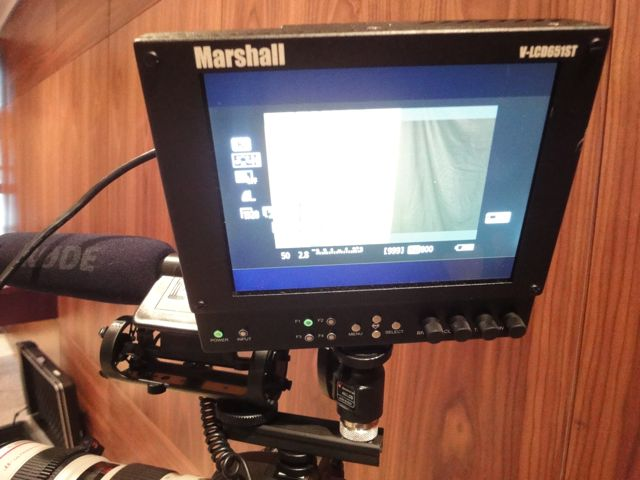 Using an external monitor makes a huge difference. This marshall one is one of the best.