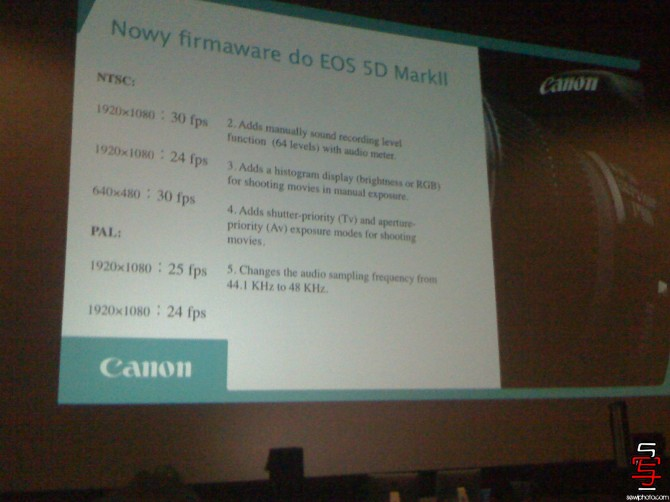 Details of Canon 5DmkII firmware released? | Philip Bloom- Blog