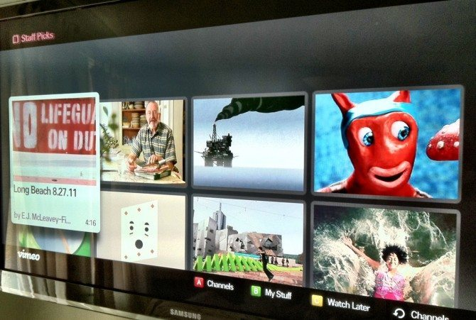 Internet TV and how watching Vimeo is a whole different experience