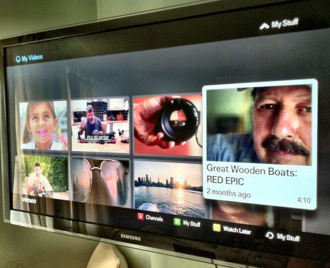 Internet TV and how watching Vimeo is a whole different