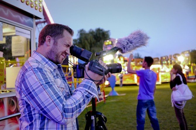 The excellent James Miller with his FS100
