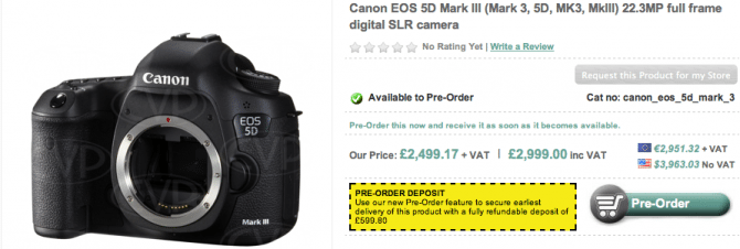 The long awaited Canon 5D mkIII   is it what we were hoping for