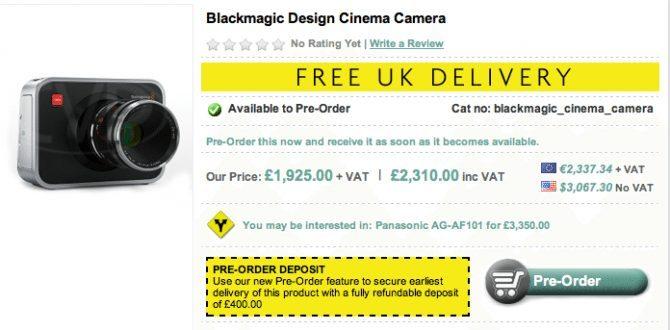 Video review of the BlackMagic Cinema Camera!! | Philip