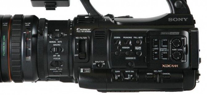 Quick review of the Sony PMW 200 and a ten minute challenge