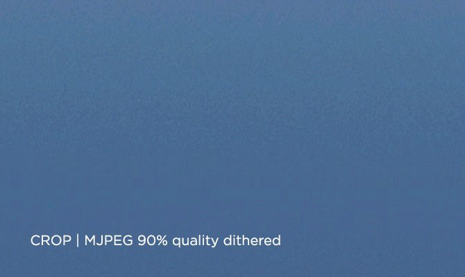 MJPEG Sky grad dithered 90percent  -670