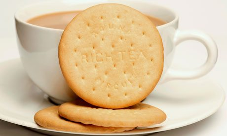 Cup of tea and a biscuit! :)