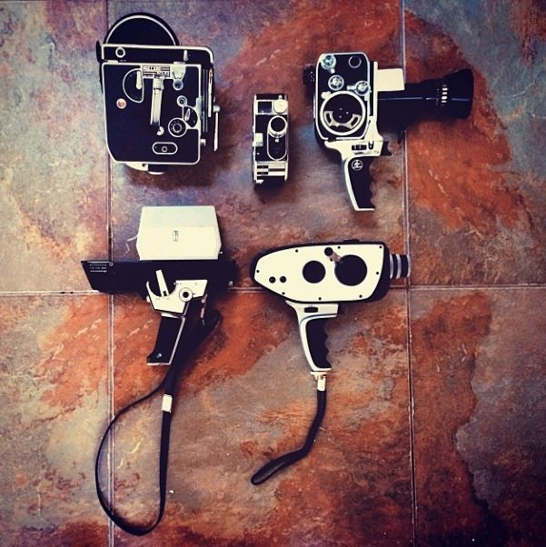 My Bolex collection, including bottom right, my Digital Bolex