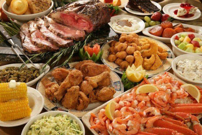 The all you can eat buffet!!! Self control? Damn hard!!!