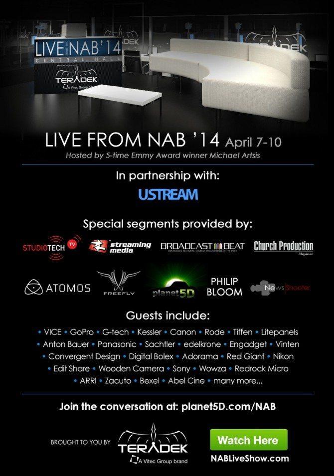 Teradek NAB Live Show 2014 English