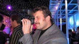 Shooting the a pre-release GH2 at the Movember Gala 3 and a bit years ago