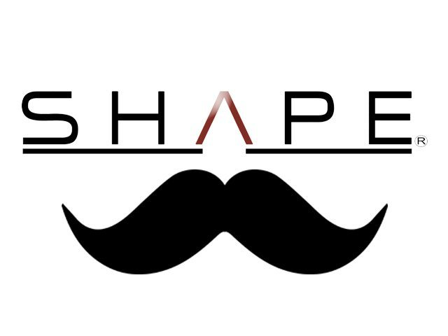 SHAPE LOGO MOUSTACHE