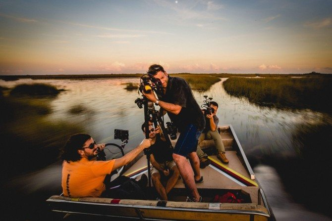 "Shooting with the Sony FS7 and Zacuto Gratical in Florida for ""The Wonder List"""