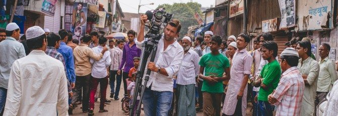 Shooting in Mumbai with the Sony F55