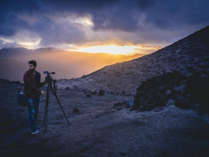 Filming on a Volcano in Vanuatu with the Sony FS7