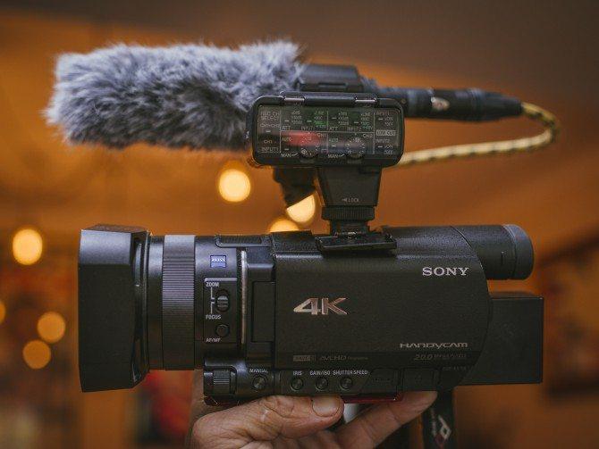 The Sony AX100