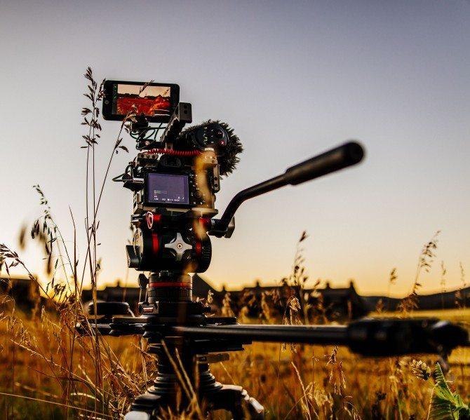 "A7R II shooting ""The Wonder List"" in Colorado on the amazing Rhino EVO 24"" slider"