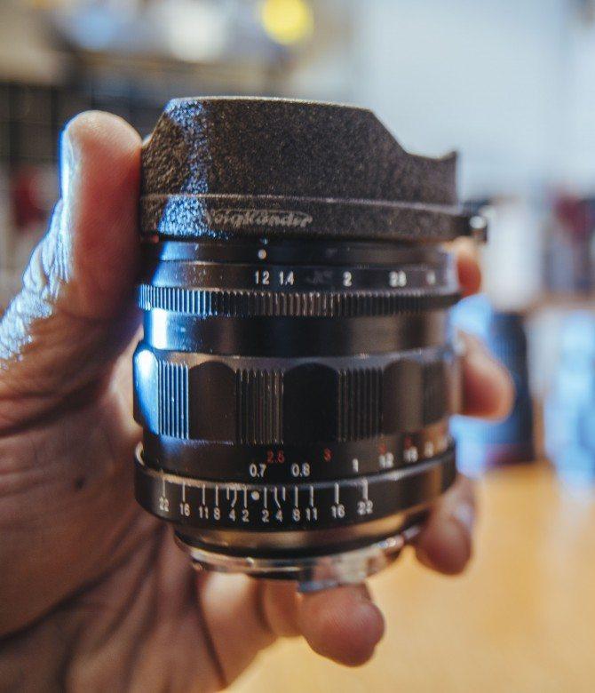 Voitglander 35mm F1.2