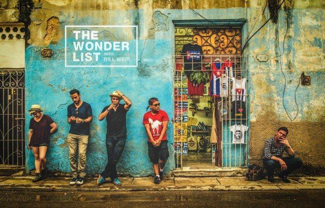 "Crew ""Band photo"" in Havana, Cuba"