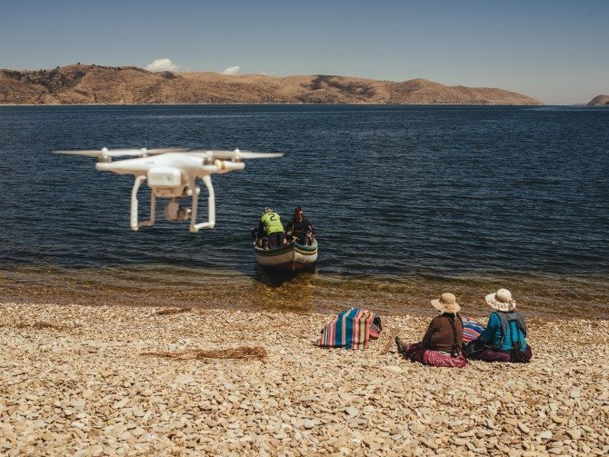 Phantom 3 on location in Bolivia for The Wonder List