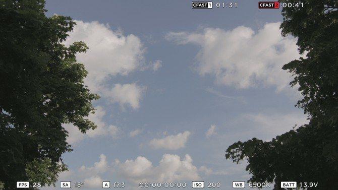 HD windowed sensor for HFR