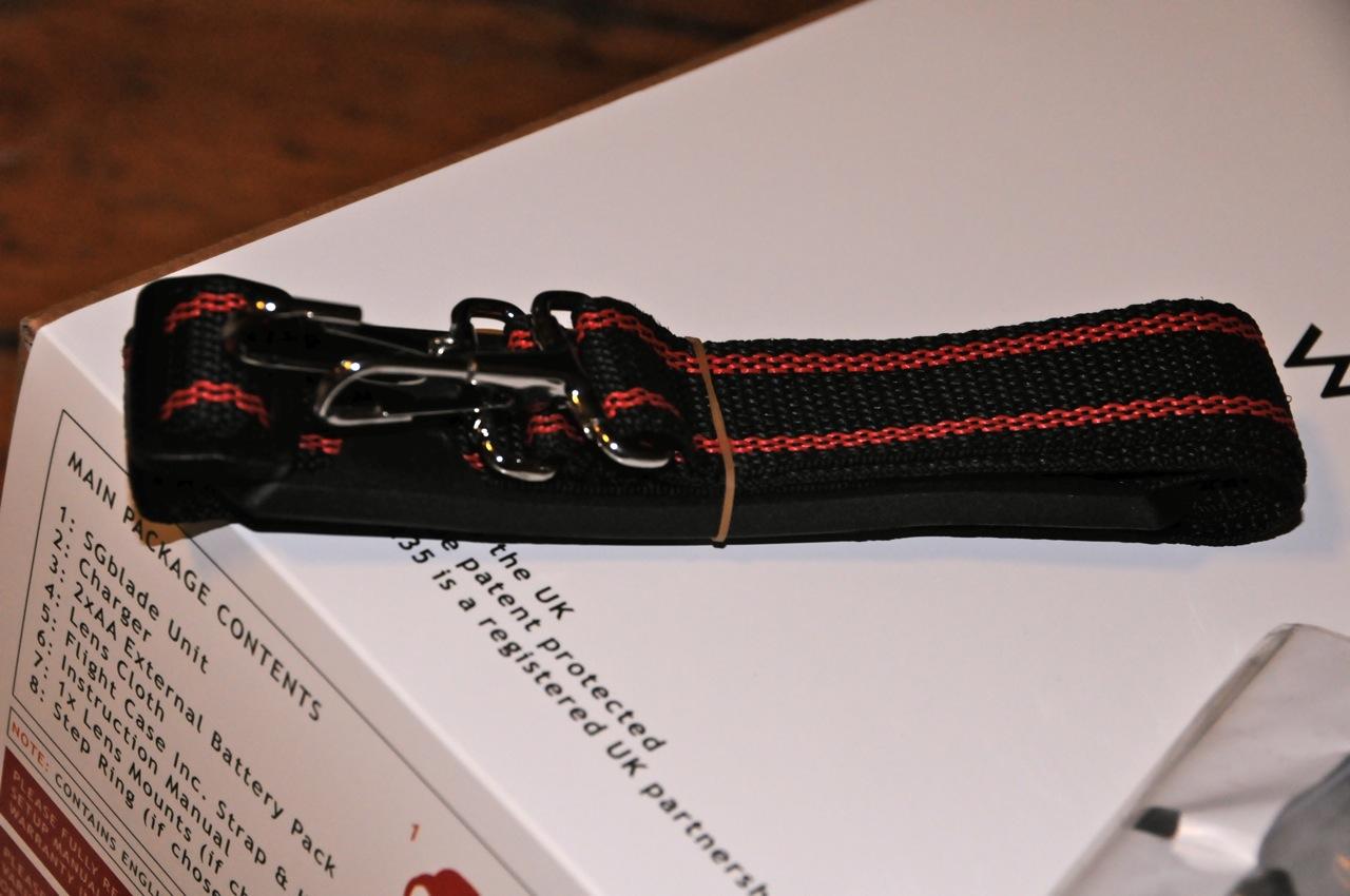 The strap for the attache case