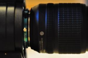 Nikon lens with no manual aperture on Nikon G adaptor