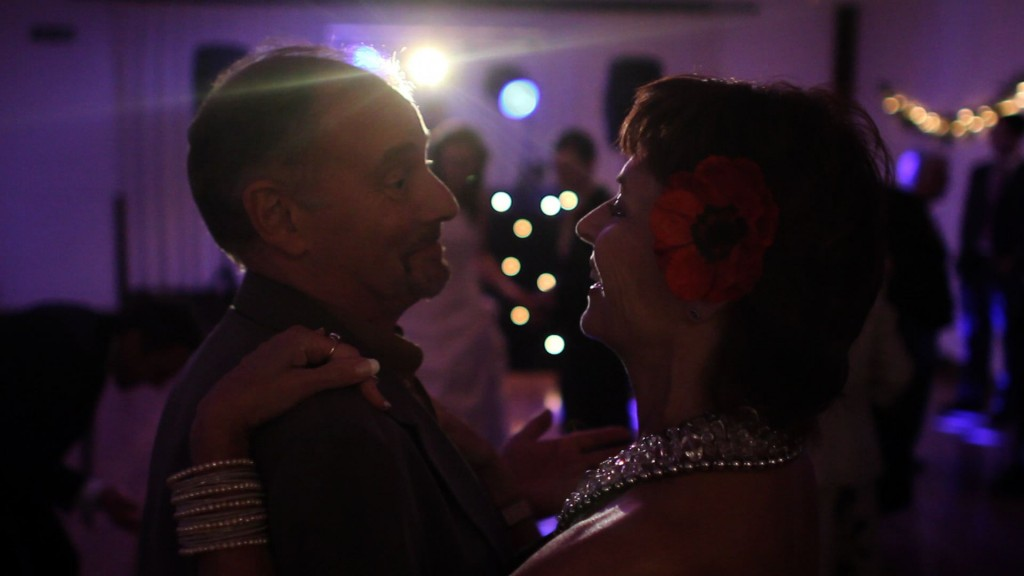 my mum and dad dancing