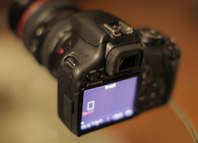 The frame on the 500D