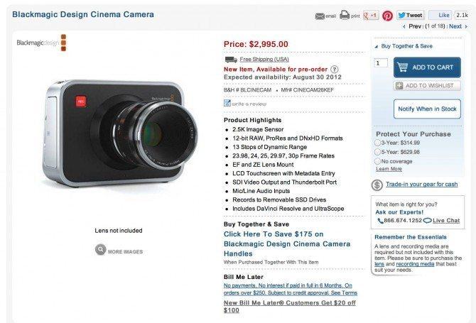 Video Review Of The Blackmagic Cinema Camera Philip Bloom Blog