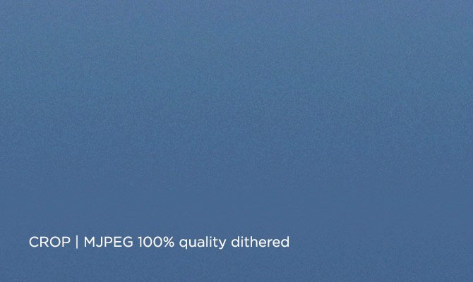 MJPEG Sky grad dithered 100percent  -670