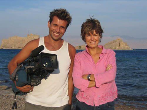 In Taba with multi award winning reporter Alex Crawford
