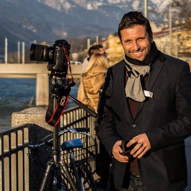 Filming for fun in Innsbruck