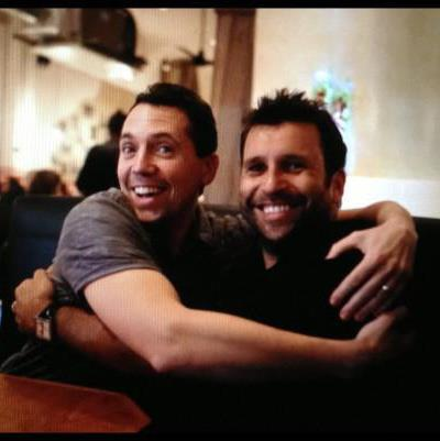 Myself and Eric in Austin, December 2012. A really special friend.