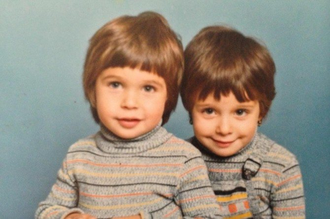 Me as a babba with my lovely sister Nat. x