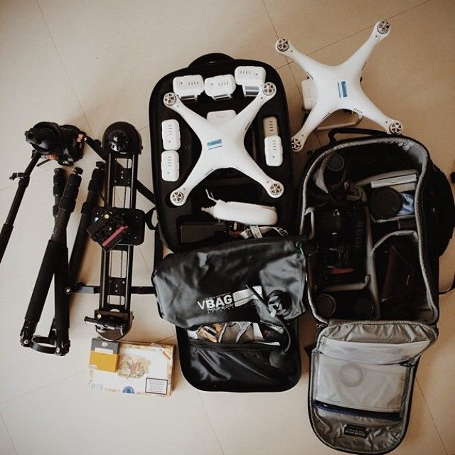 My shooting gear for Thailand!