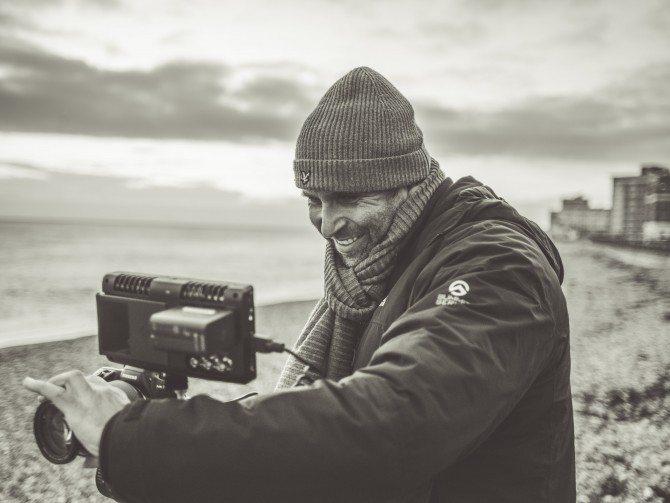 Brighton Beach, Shooting the Sony A7s & Atomos Shogun