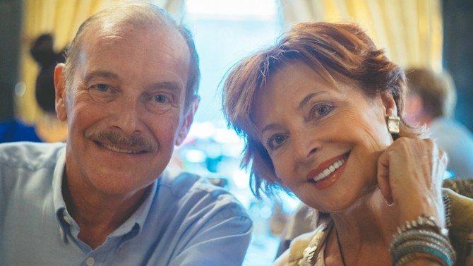 Dad and Mum celebrating their Golden Wedding Anniversary