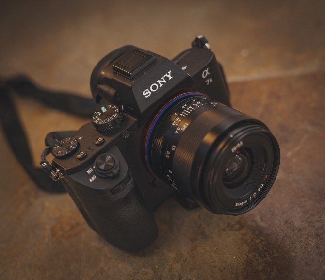 My Sony A7II with Zeiss Loxia 35mm F2